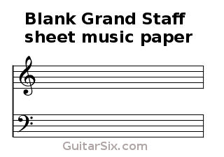 musical grand staff coloring pages - photo#10