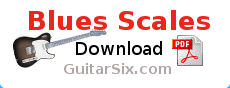 Guitar Blues scales PDF download