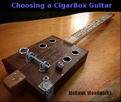 choosing a cigar box guitar