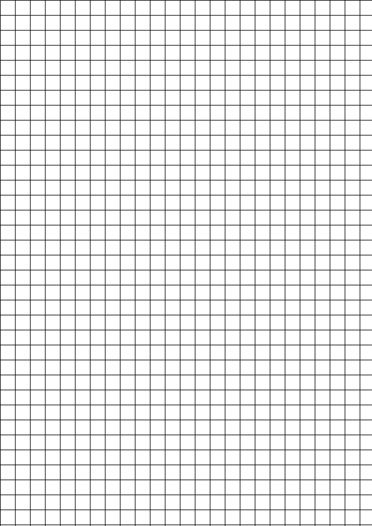 graph paper size