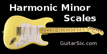 harmonic minor scales for guitar
