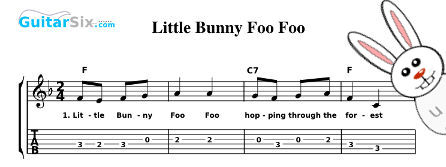 Sheet Music And Lyrics For Por Kids Songs